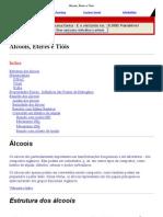 [18-05-2011]Álcoois, Éteres e Tióis