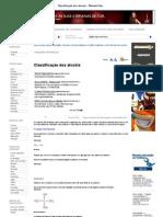 [18-05-2011]Classificação dos alcoóis - Mundo Educação