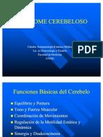 SINDROME CEREBELOSO clase 6
