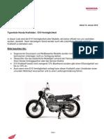 Typenliste E10 Vertraeglichkeit Honda Krad 012011-1
