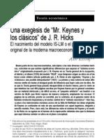 Diferencia de Keynes Con El Modelo ISLM