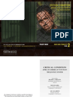 CRITICAL CONDITION AFRICAN-AMERICAN YOUTH IN THE JUSTICE SYSTEM