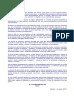 Declaración Pública Rector USACH 5-ago