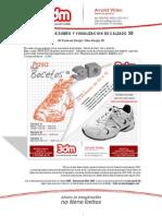 3DM - CURSO DE DISEÑO Y VISUALIZACION DE CALZADO 3D