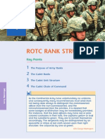 MSL 101 L02 ROTC Rank Structure