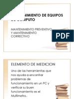 Diapositivas Mto Preventivo Fuente Poder
