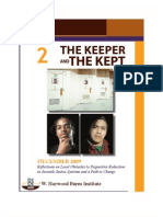 Burns Institute Keeper Kept Vol.2--Reflections on Local Obstacles to Disparities Reduction in Juvenile Justice Systems and a Path to Change  by W. Haywood Burns Institute (BI)