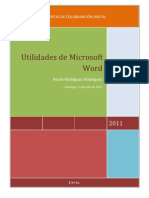 Utilidades de Microsoft Word