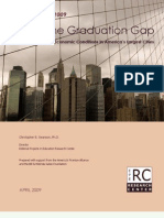 Cities in Crisis 2009 Closing the Graduation Gap Educational and Economic Conditions in America's Largest Cities