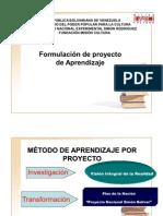 Elaboracion de propuesta de proyecto e informe