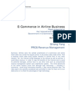 E-Commerce in Airline Business