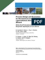 NREL - Process Design