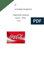 Assignment on Strategic Management Ashish