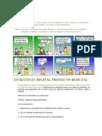 Estrategia Digital Proyecto Redutac
