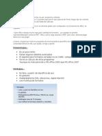 Ventajas y Desventajas de Open Office