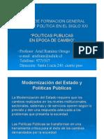 Politicas Publicas en Epoca de Cambio