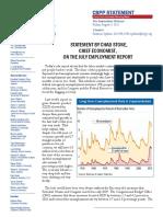 July Unemployment Rpt - CBPP