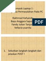 Kelompok Laptop 1 Soal