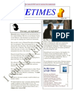 Life Times 2011 SUMMER Edition