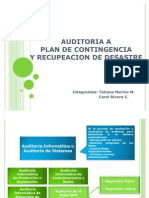 Auditoria a Plan de cia