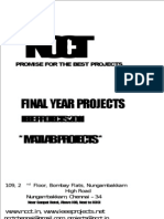 2011 - 2012 IEEE Projects List - MATLAB Projects