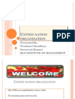 United Nation Organization-presentation