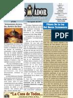 """2011-08-07""""El Conquistador"""" Boletín Semanal de La casa de Todos- Chimbote"""