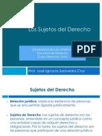 Sujetos Del Derecho - UDLA