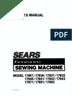 Sears Kenmore #385 1778180