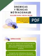 TÉCNICAS MOTIVACIONALES