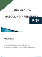 Aseo Genital Masculino y Femenino