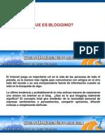 Que Es Blogging