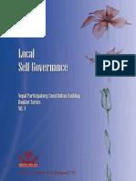 Local Self Governance English