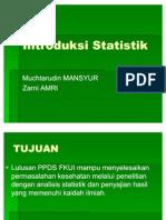 Biostat1-Introduksi Statistik