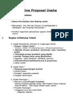 Outline Proposal Bisnis