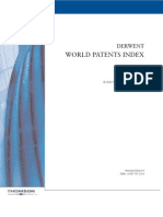 World Patent Index