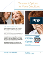 Voice Treatment Guide