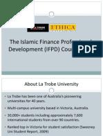 Islamic Finance Professional Development (IFPD) Course