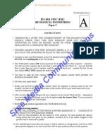 Mechanical Paper 1