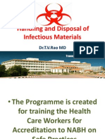 Procedures for Handling and Disposal of Infectious Materials