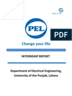 PEL Transformer Unit Internship Report