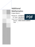 57347904 Additional Maths Project Work 2 2011