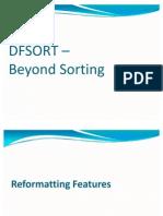 DFSORT - Advanced