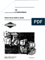 Service Manual for Briggs and Stratton 16 Hp Twin Cylinder L