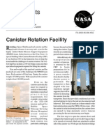NASA Facts Canister Rotation Facility 2002