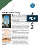 NASA Facts Canister Rotation Facility 2006