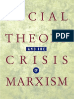Social Theory and the Crisis of Marxism