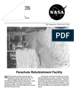 NASA Facts Parachute Refurbishment Facility 2001