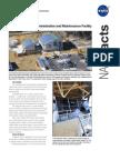 NASA Facts Propellants North Administrative and Maintenance Facility