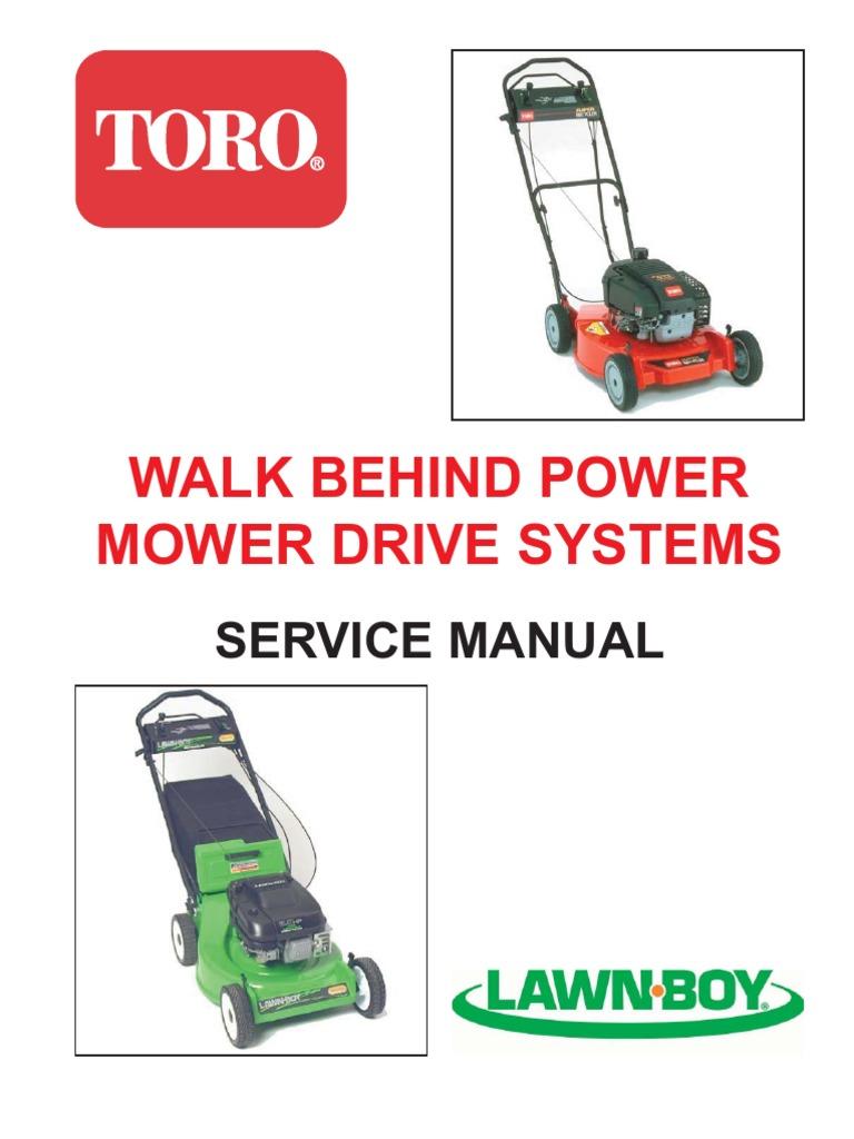 Lawnboy 10313 Service Manual | Manual Transmission | Transmission  (Mechanics)